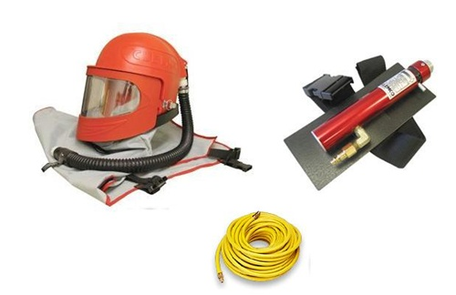 Clemco Apollo 600 HP Supplied Air Respirator with Climate Control Tube & 50 Ft Respirator Hose Package at Sears.com