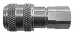 "Dixon Valve & Coupling Dixon 4DF3-B 1/2"" IND COUPLER, 3/8"" NPTF, BRASS Body Material: BRASS Body Size: 1/2"" at Sears.com"