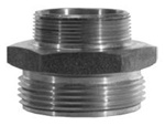 Dixon Valve & Coupling Dixon DMH1015F DBL MALE HEX NIP 1 NPT X 1 1/2 NST at Sears.com