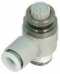 SMC AS3211FG-03-08S Spd Control Valve, Tube 8 mm, Body 3/8 In at Sears.com