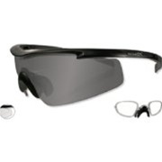 8f694fcf103 Wiley-X PT-3SCRX Lens Tint Smoke Grey - Clear Matte Black w RX ...